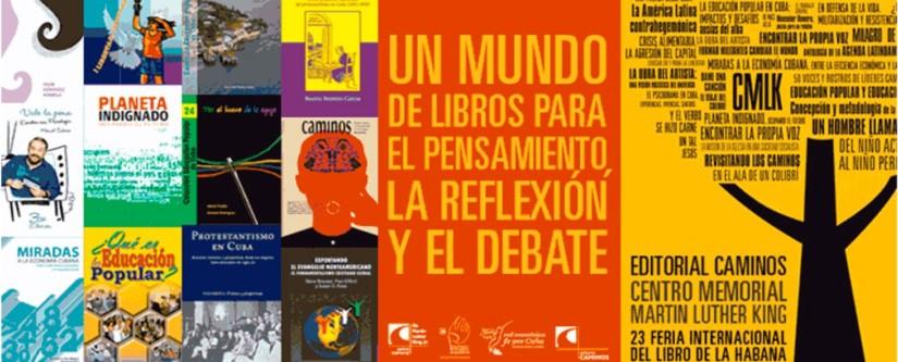 Nuestra editorial Caminos ya tiene programa para la 23 Feria Internacional del Libro de La Habana